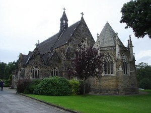 Chapel, Rudding Park, built 1874