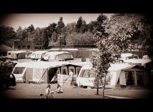 Camping at Rudding Park